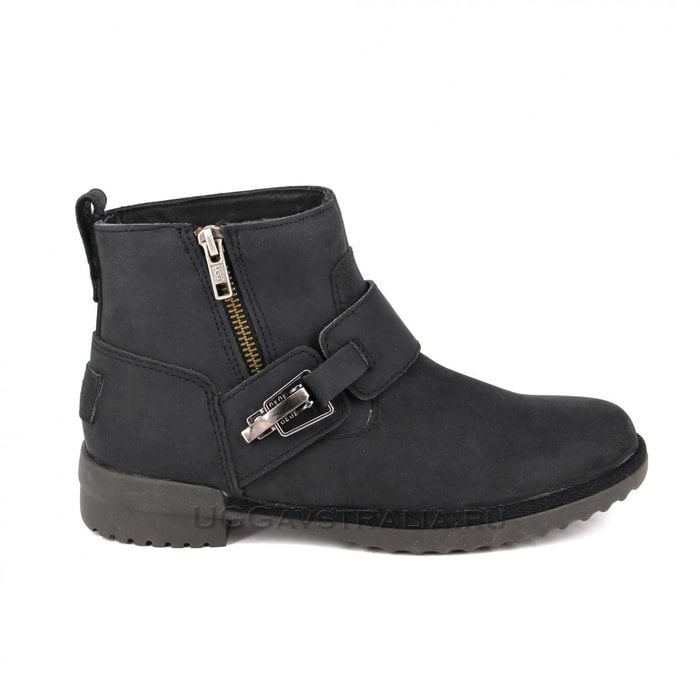 Женские ботинки UGG Cossack Boot Black