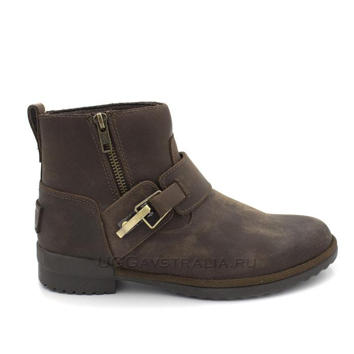 Женские ботинки UGG Cossack Boot Chocolate