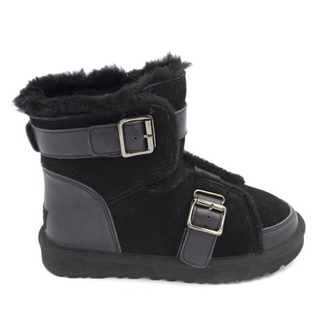 Ботинки UGG Dune Mini Buckle Boot Black