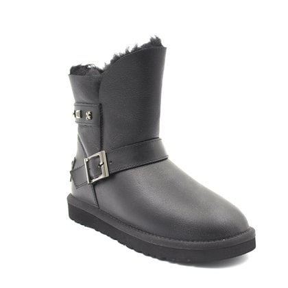 Угги UGG Dylyn Erica Metallic Black