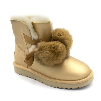 Угги UGG Gita Metallic Gold