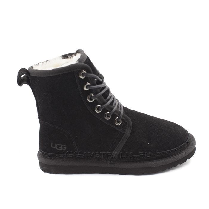 Женские ботинки UGG Harkley Black