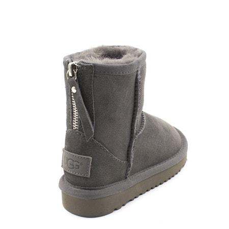 Угги UGG Kids Classic Short Zip Grey