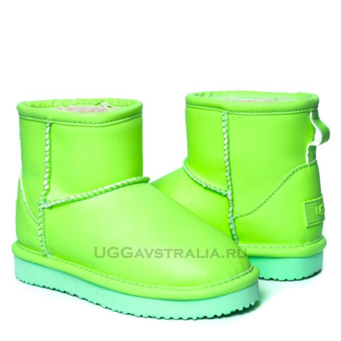 Детские полусапожки UGG Kids Mini Candy Night Green