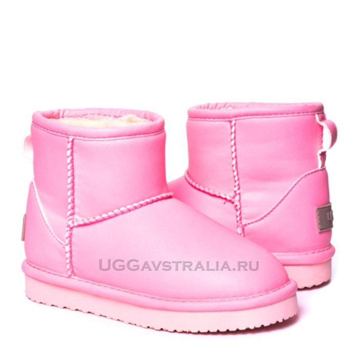 Детские полусапожки UGG Kids Mini Candy Night Pink
