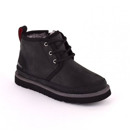 Ботинки UGG Kids Neumel II WP Zip Nubuck Black