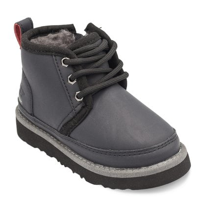 Ботинки UGG Kids Neumel WP Zip Nubuck Black