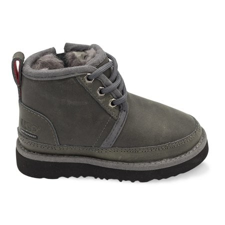 Ботинки UGG Kids Neumel WP Zip Nubuck Grey