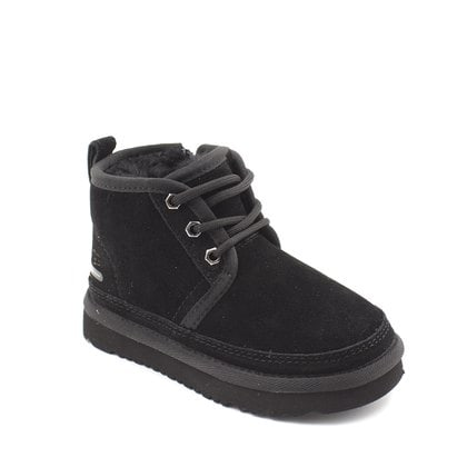 Ботинки UGG Kids Neumel II WP Zip Suede Black