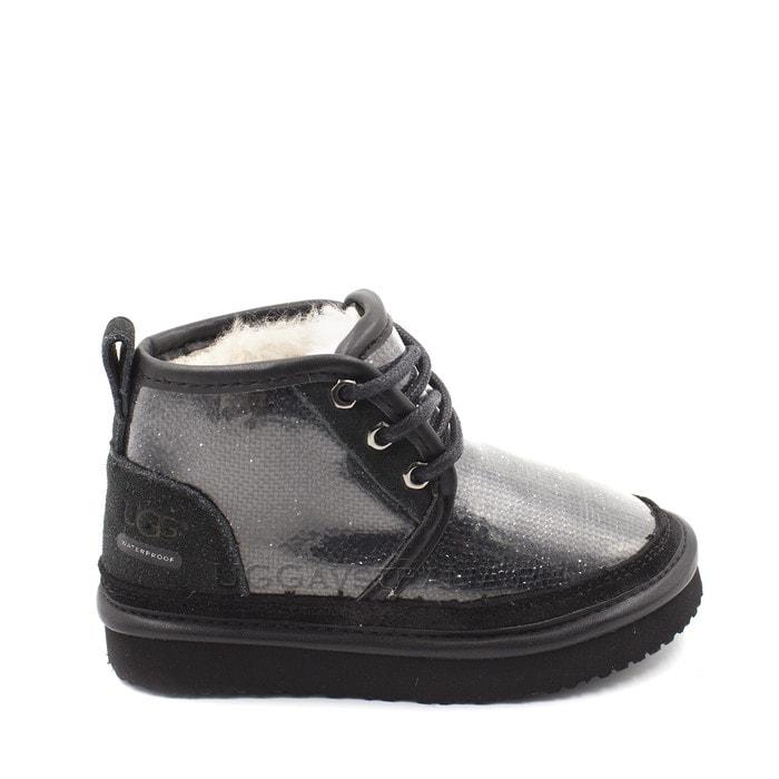 Детские ботинки UGG Kids Neumel Serein Black