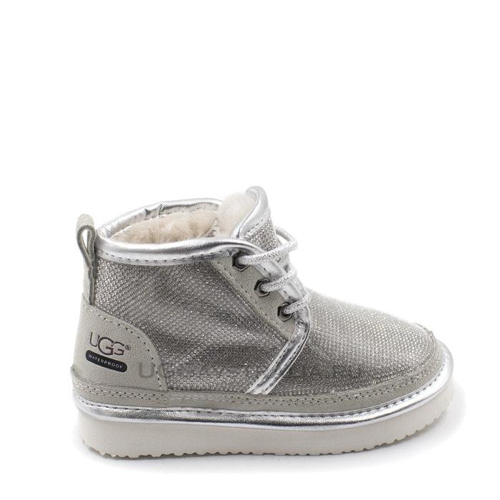 Детские ботинки UGG Kids Neumel Serein Silver