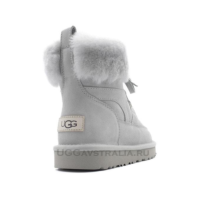 Женские ботинки UGG Liana Boot Grey Violet