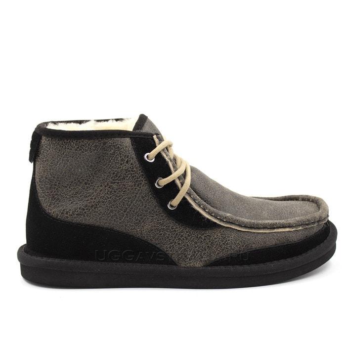Мужские ботинки UGG Mens Bosley Boots Bomber Black