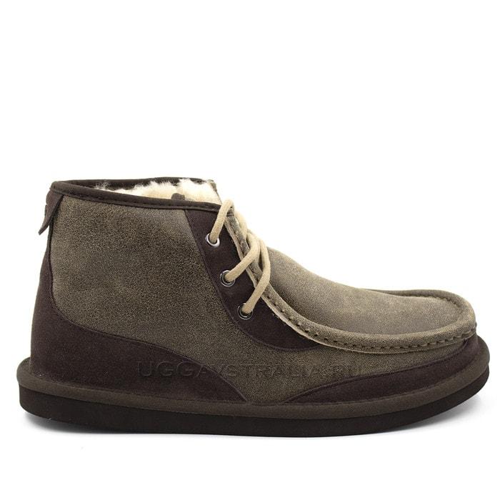 Мужские ботинки UGG Mens Bosley Boots Bomber Chocolate