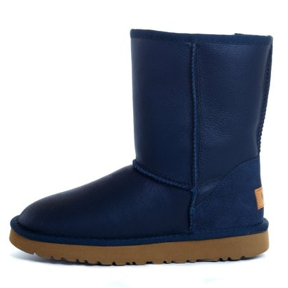 Угги UGG Mens Classic Short Metallic Navy