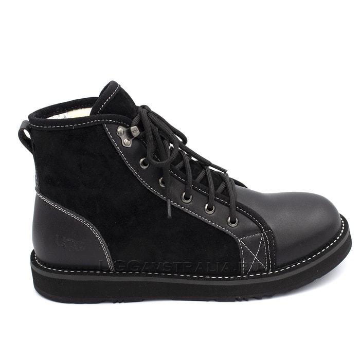 Мужские ботинки UGG Mens Navajo Boots Black