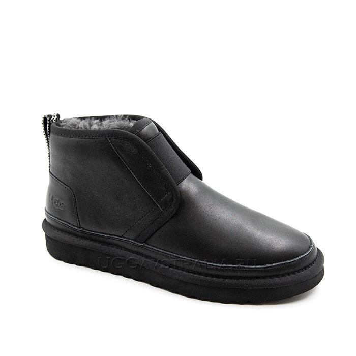 Мужские ботинки UGG Mens Neumel Flex Leather Black