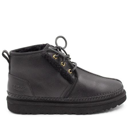 Ботинки UGG Mens Neumel Stitch Leather Black