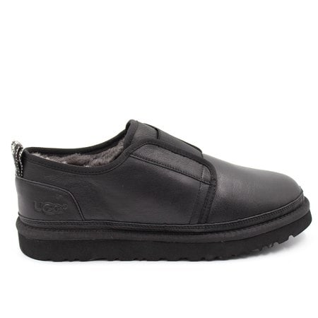 Слипоны UGG Mens Stitch Slip Flex Leather Black