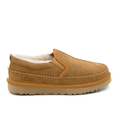 Слипоны UGG Mens Stitch Slip Chestnut