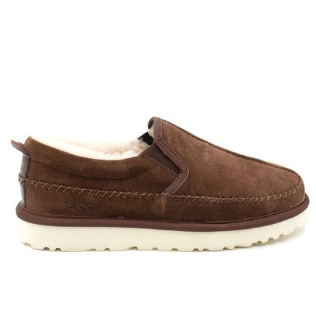 Слипоны UGG Mens Stitch Slip Chocolate