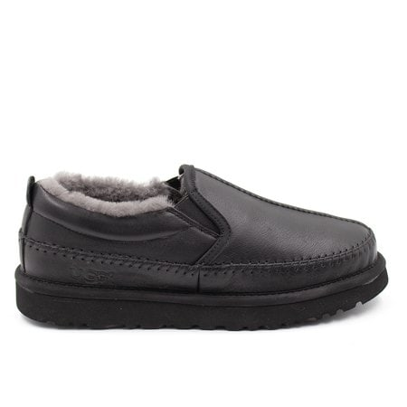 Слипоны UGG Mens Stitch Slip Leather Black