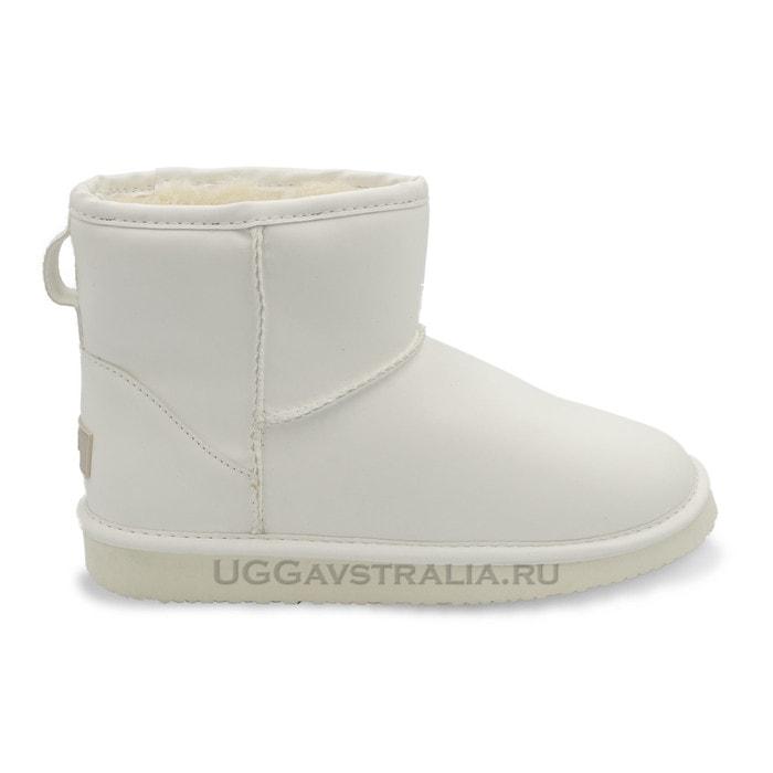 Женские полусапожки UGG Mini Candy Night White