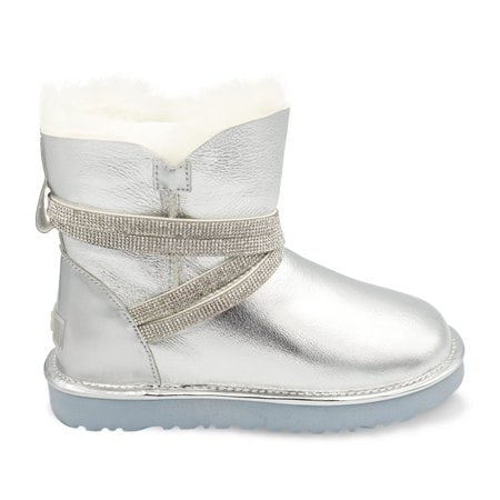 Угги UGG Mini Rock Metallic Silver