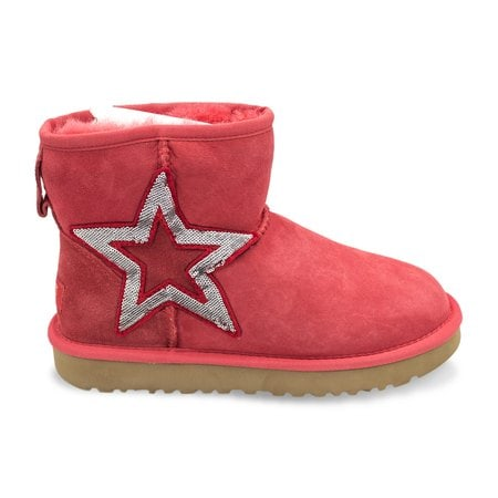 Угги UGG Mini Sequins Red
