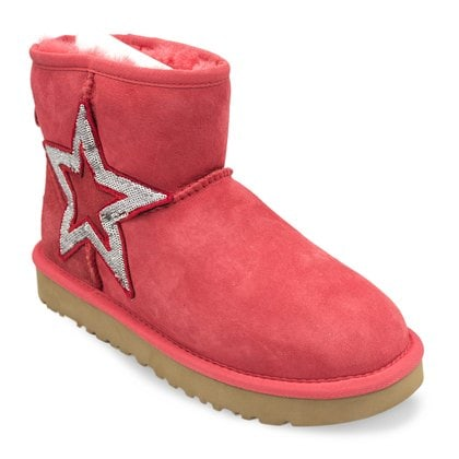 Угги UGG Mini Sequins Red