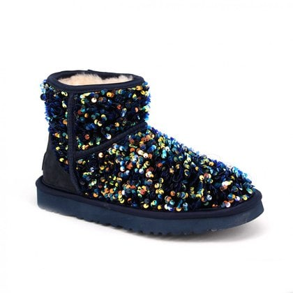 Угги UGG Mini Sparkle Miracle Navy