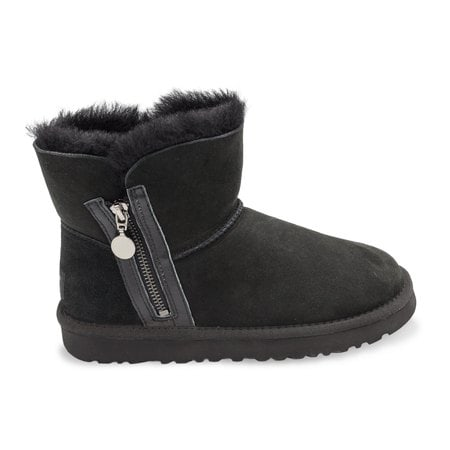 Угги UGG Mini Zipper Black