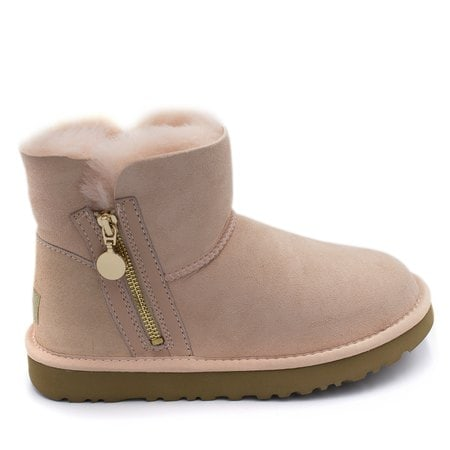 Угги UGG Mini Zipper Pink