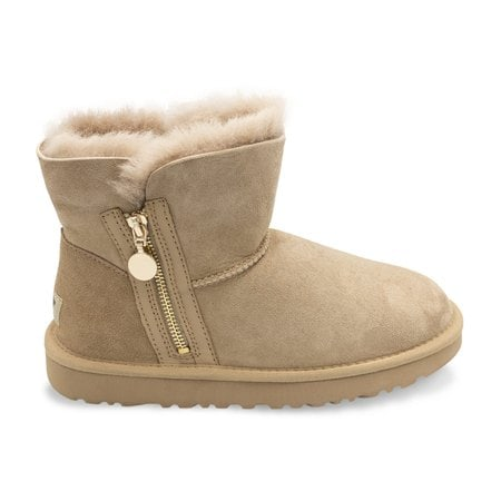 Угги UGG Mini Zipper Sand