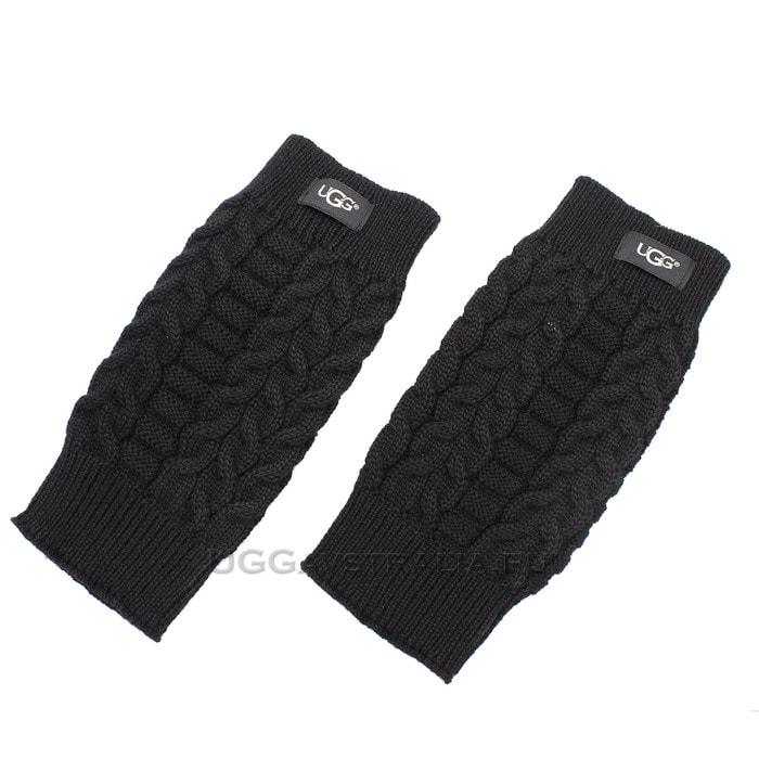 Женские перчатки UGG Wool Gloves Black