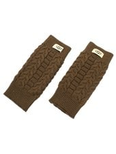 Перчатки UGG Wool Gloves Chestnut