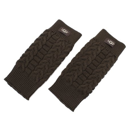 Перчатки UGG Wool Gloves Chocolate