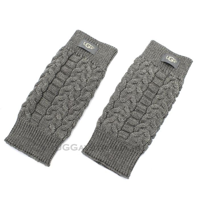 Женские перчатки UGG Wool Gloves Grey