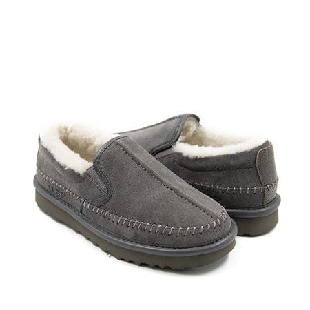 Слипоны UGG Stitch Slip Grey
