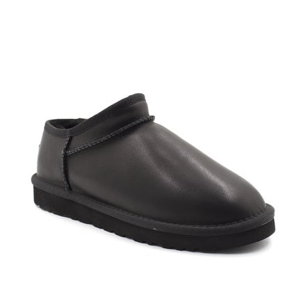 Слипоны UGG Tasman Slipper Leather Black