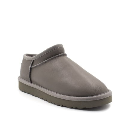 Слипоны UGG Tasman Slipper Leather Grey