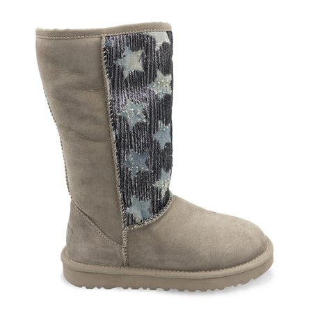 Угги UGG Tall Shabby Star Grey