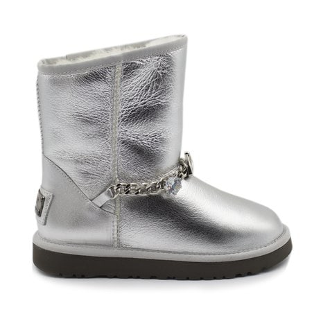 Угги UGG Zanotti Diamond Metallic Silver