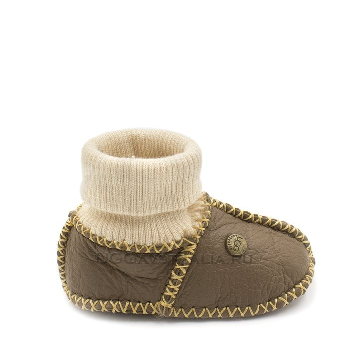 Детские пинетки UGG Infants Baby Chocolate