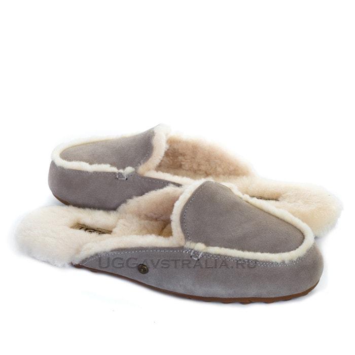 Женские тапочки UGG Lane Slippers Grey