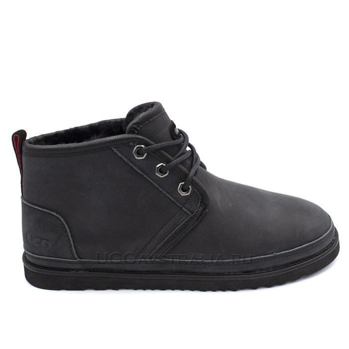 Мужские ботинки UGG Mens Neumel Waterproof Black