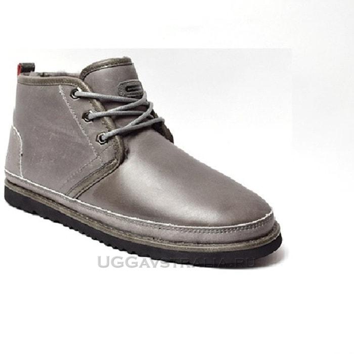 Мужские ботинки UGG Mens Neumel Waterproof Grey