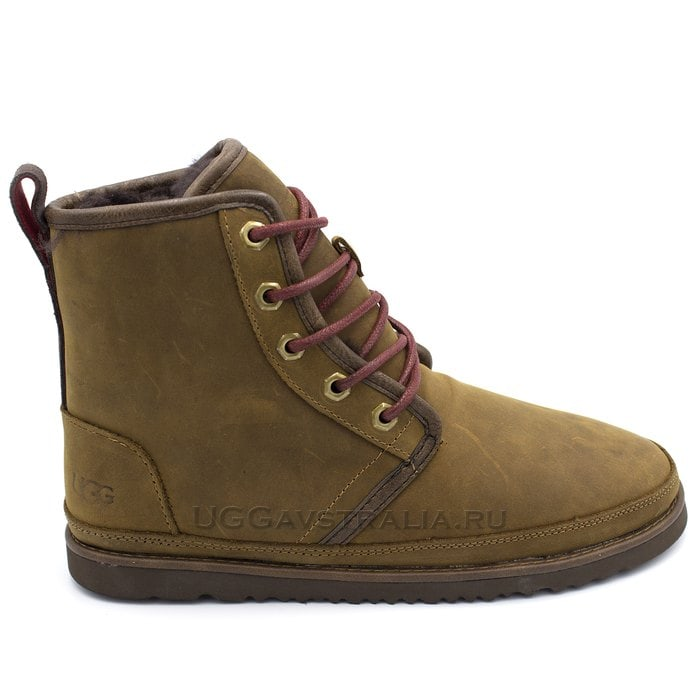 Мужские ботинки UGG Mens Harkley Waterproof Chocolate