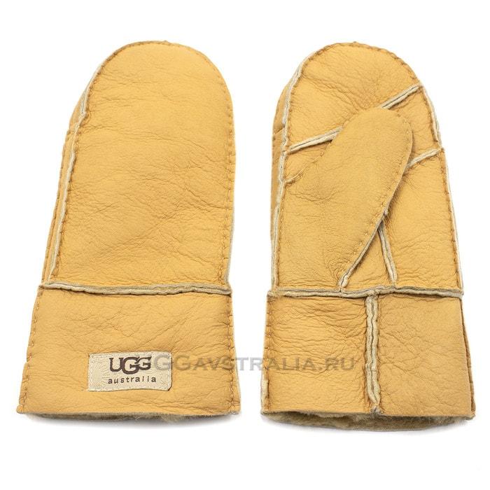 Женские варежки UGG Mitten Yellow