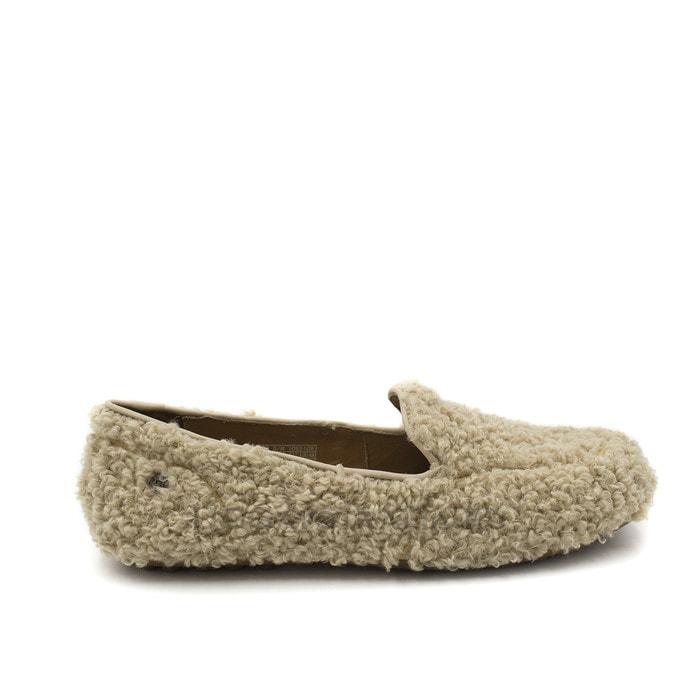 Женские мокасины UGG Hailey Fluff Loafer Sand